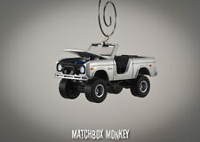 Custom '67 Ford Bronco 4x4 Truck Christmas Ornament 1/64 Emblem SUV Jeep XJ CJ