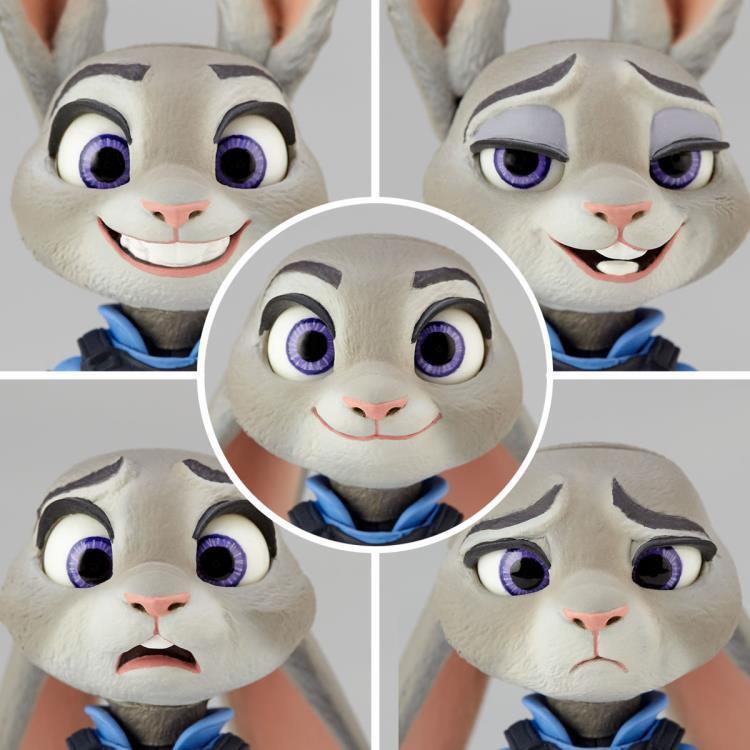 Revoltech Revoltech Revoltech Movie 008 Zootopia Judy Hopps azione cifra Kaiyodo (100% reale) 6aa73b
