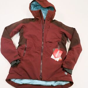 335-Women-039-s-Mountain-Hardwear-Polara-Insulated-Jacket-Size-Small-Red-NEW