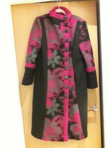 14 Lovely 80 Libra Quirky Coat Wool Size BwgwaS
