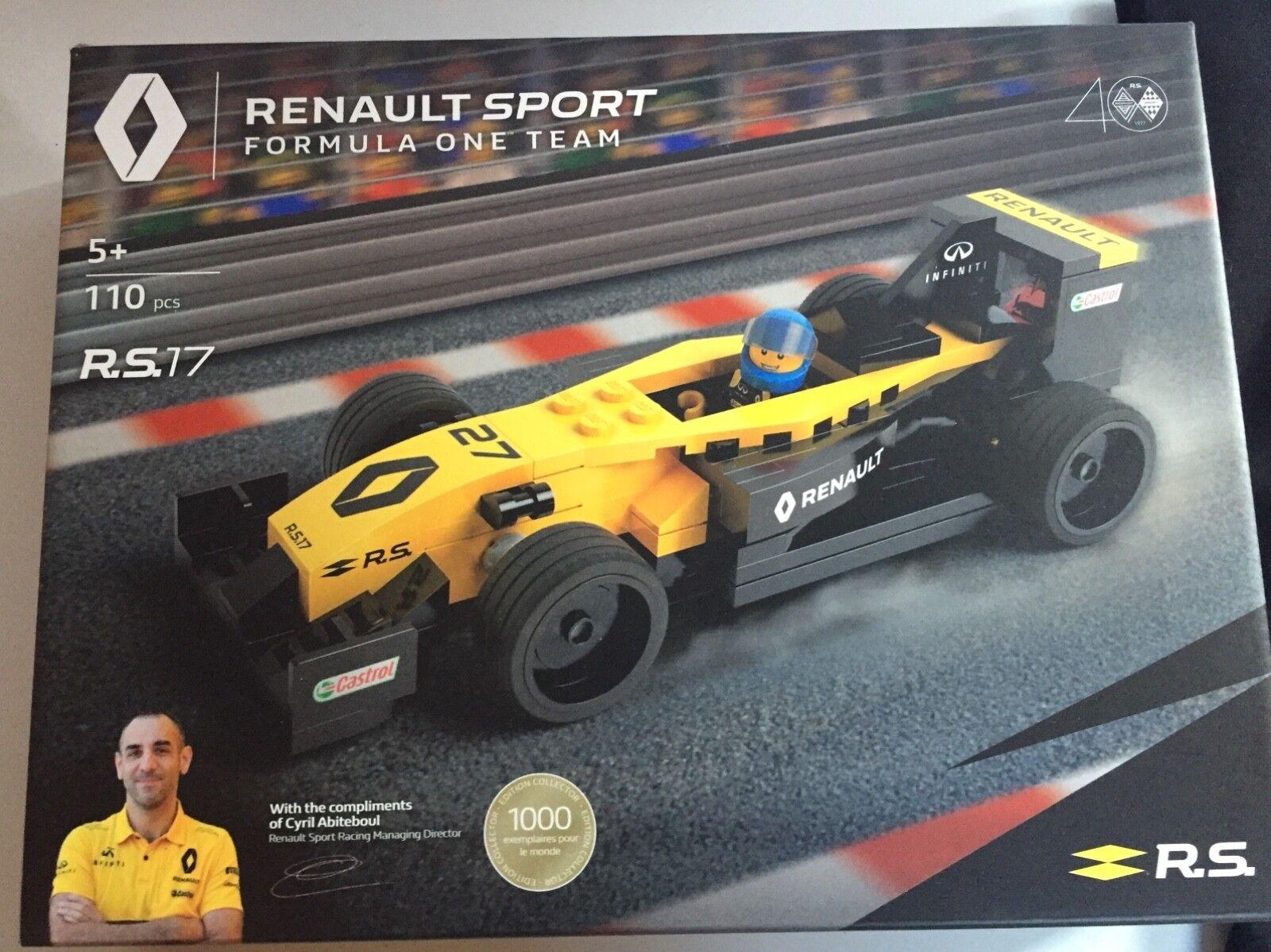 Lego Renault sport RS 17 édition limitée 1000 exemplaire dans le monde