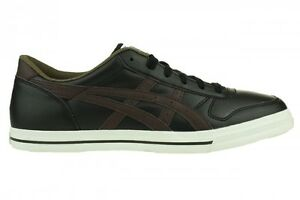 Asics-Aaron-Sneaker-Schuhe-Lifestyle-schwarz-braun-Unisex-Retro