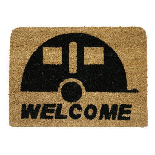 de soutien en pvc Tapis de porte bienvenue Caravane entrée indoor outdoor,100/% fibre de coco qualité
