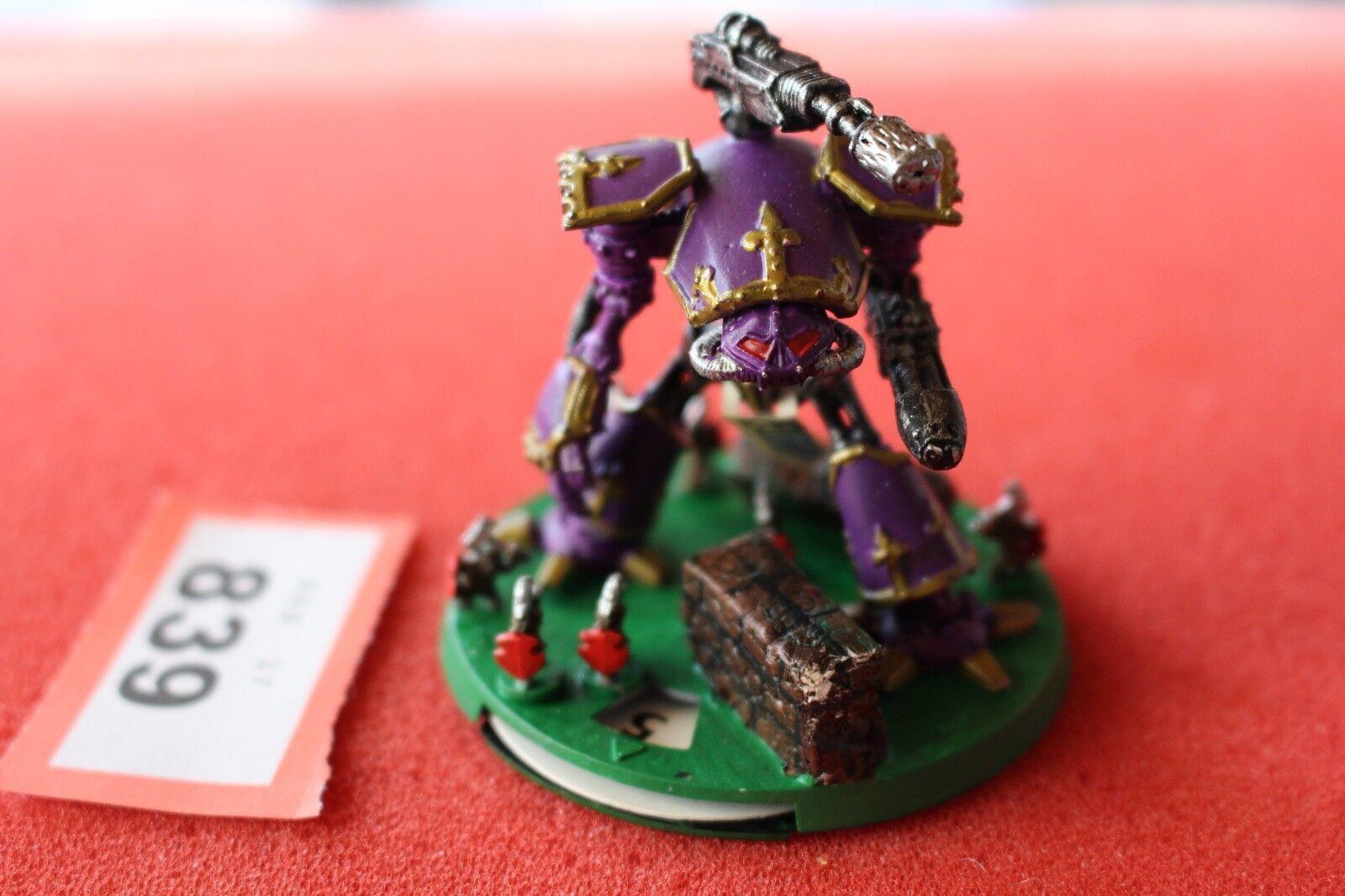 Games Workshop Epic 40k Imperial Reaver Titan Painted Metal Armageddon OOP GW