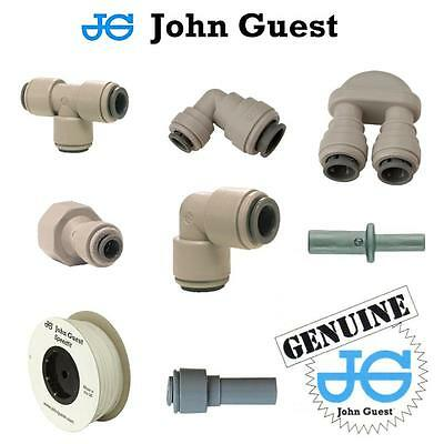 JOHN GUEST 3//8 SPEEDFIT PUSH FIT for Beer Cooler Pump Tap Font Home Bar Filter