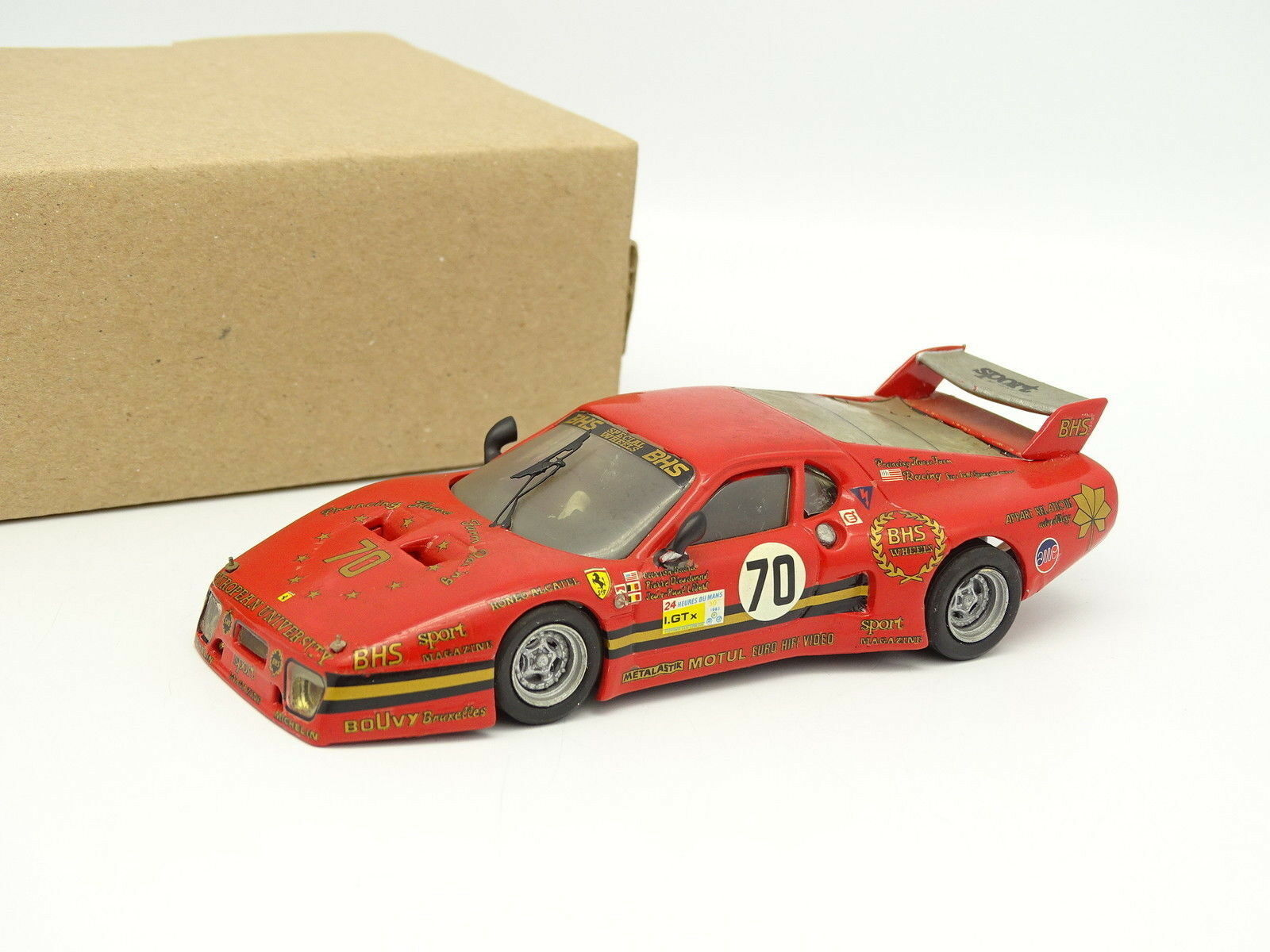 AMR kit built metal 1 43 - Ferrari 512 BB European University No. 70 LE