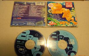2-CD-Bravo-Hits-38-40-Tracks-2002-Britney-Spears-Blank-amp-Jones-Loona-Moguai