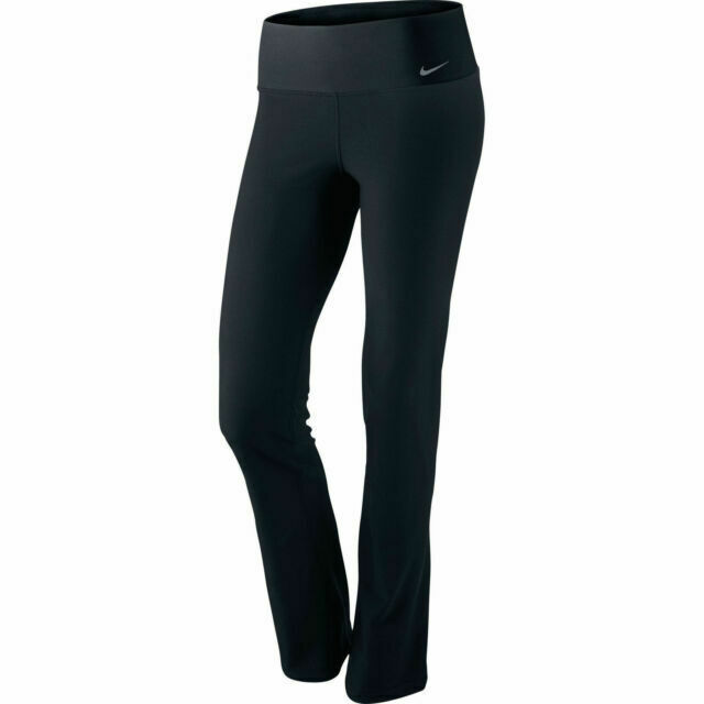 Nike Legend 2 0 Regular Fit Training Yoga Pants Women S Xs Black 548516 For Sale Online Ebay