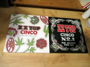 NEW-UNPLAYED-2-X-5-LP-VINYL-RECORDS-BOX-SETS-ZZ-TOP-CINCO-THE-FIRST-FIVE-LP-039-S-1
