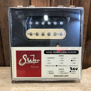 Suhr-SSV-humbucker-Guitar-Pickup-Pont-de-position-50-mm-espacement-REVERSE-Zebra