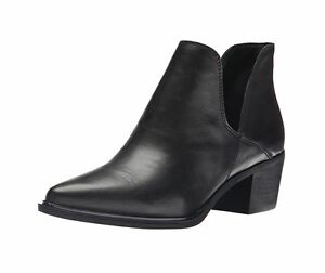 b84d7c0284a NEW NIB STEVEN by Steve Madden Slaater Ankle BootieBoot Leather ...