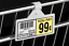 """CLEAR Wire Basket-Fixtures Tags Holders Label Price Tag UPC 2/""""-25 PCS-CLIP ON"""