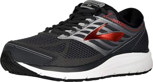 9 D Brooks Men/'s Addiction 13 Running Shoe US M Ebony//Black//Red