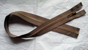 21-inch-Dark-Brown-Vislon-5V-Separating-YKK-Zipper-New