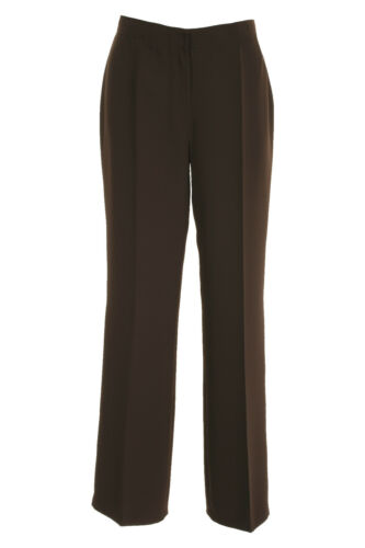 """Length 29/"""" /& 31/"""" Busy Brown Smart Ladies Trousers"""