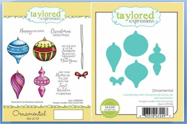 Circle ~TE822 Taylored Expressions Cutting Die Set ~ TAG STACKLETS 3  ~ Round