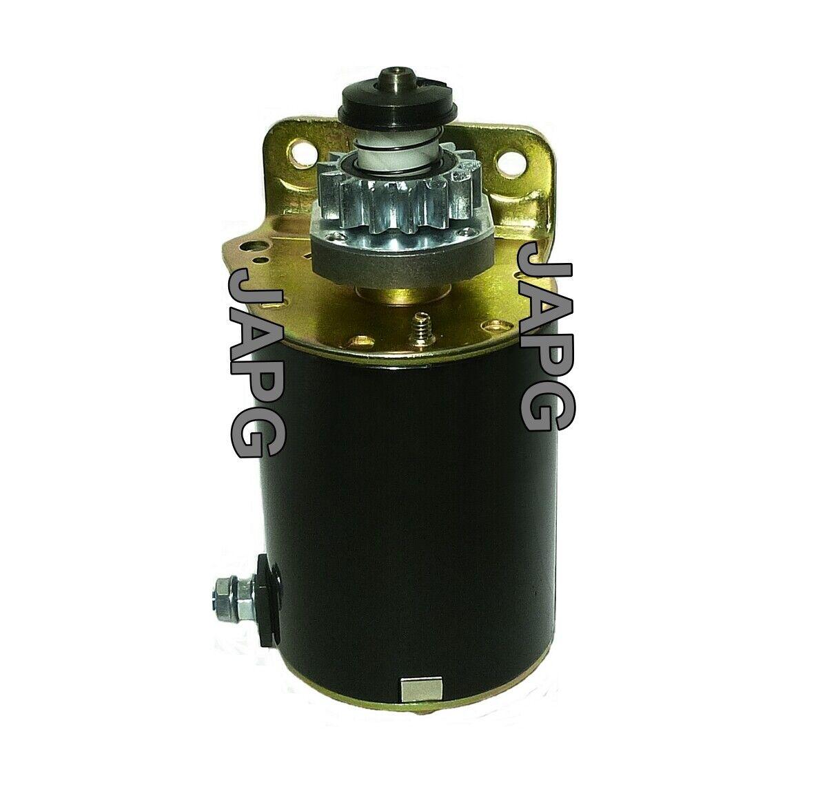 Motor de arranque eléctrico de motor, John Deere L100, L105, L107, L108, LA100, LA105, LA110