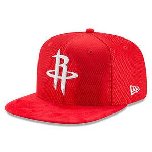 0f89f5d283001 Houston Rockets New Era 2017 NBA Draft Official On Court Snapback ...