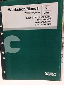 Volvo Penta Workshop Manual Wiring Diagrams P N 7743606 Gbox2 Ebay