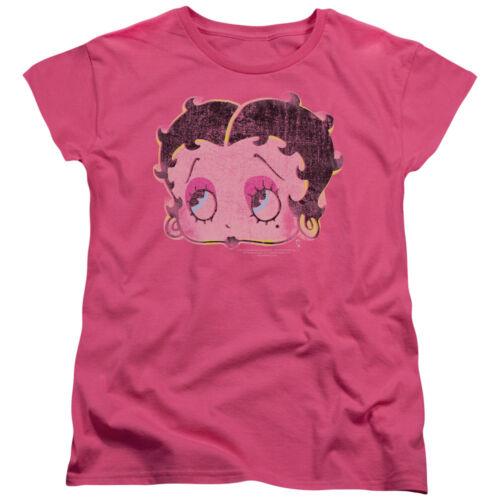 Betty Boop Cartoon Pop Art Boop Women/'s T-Shirt Tee