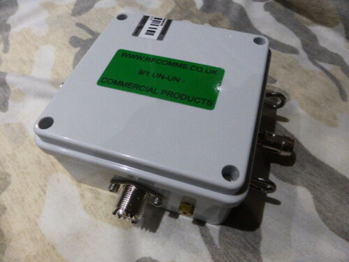 New-9-1-Transformer-Un-Un-SO239-500-Watt-Commercial-FREE-1-1-250w-Choke