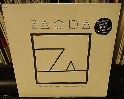 Sealed Frank Zappa Ship Arriving To Late To Save A