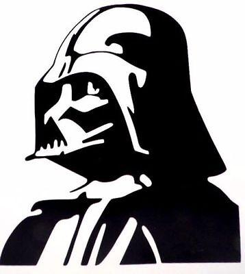 Darth Vader Peeking Funny Cool Car Truck Window Vinyl Decal Sticker 12 COLORS