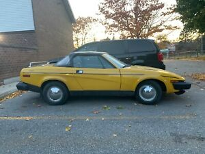 1980 Triumph TR7 Convertible. Second Owner. $3,900.00