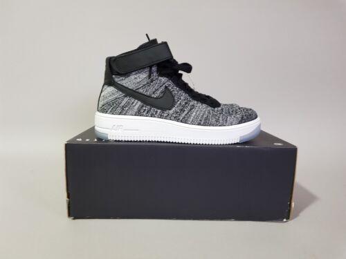 818018 Wmns blanco 1 eu38 5 negro Negro Nike Force us7 Uk4 Air 001 Flyknit 71x0wd