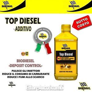 Additivo Gasolio riduce consumi Migliora prestazioni Bardahl Top Diesel BDC
