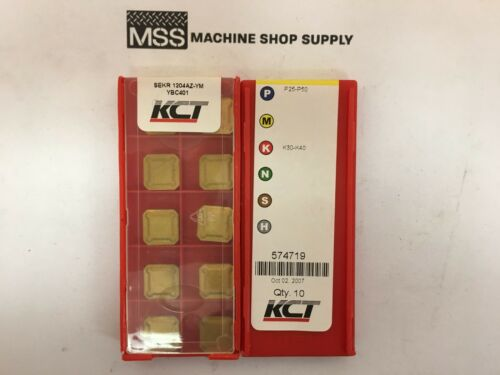 private label KCT ZCCCT Inserts SEKR 1204AZ-YM YBC401