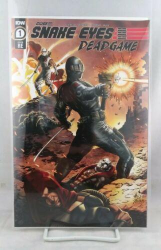 SNAKE EYES DEADGAME #1 THE COMICS VAULT GUS MAUK /& KEVIN CONRAD COLOR VARIANT