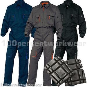 Delta Plus Men Work Overalls Boiler Suit Coveralls