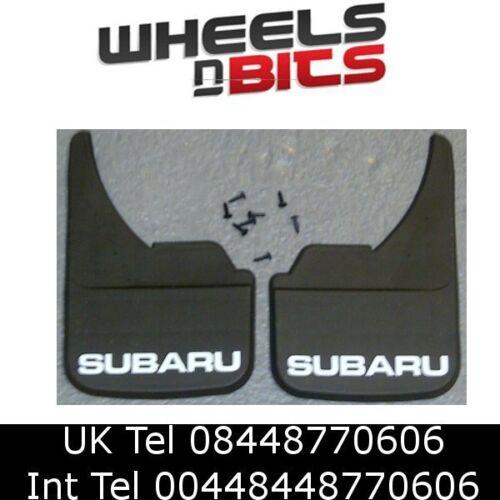 Subaru Logo Universal Coche mudflaps Delantero Trasero Forester Impreza Mud Flap Guardia