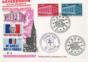 Image Is Loading Eu56a Dg2 Map 034 De Gaulle Referendum 27