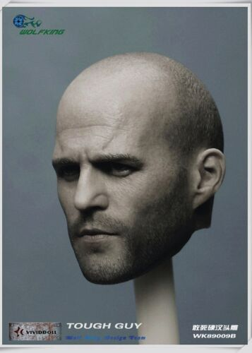 WOLFKING 1//6 Jason statham HEADPLAY Death squads Tough guy Head HW//O Neck