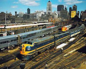 CHICAGO-amp-EASTERN-ILLINOIS-CEI-FP-7A-RAILROAD-8x10-SILVER-HALIDE-PHOTO-PRINT