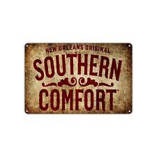 New Orleans Southern Comfort Decor Art Man Cave Bar Vintage Retro Metal Sign