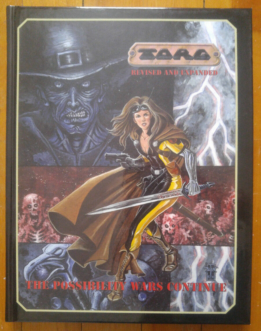 Torg Revised and Expanded - The Possibility Wars Continue (NM) First Print 2005