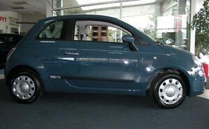 Cuerpo-Protector-de-moldeo-por-Puerta-Lateral-Molduras-Adorno-de-4-Piezas-De-Ajuste-Fiat-500-2007