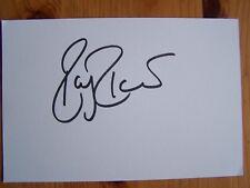 Roger Federer Tennis Legend 6x4 Signed White Card + Proof