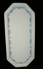 Rosenthal Porzellan Maria weiß Rosenkante blau Kuchenplatte Königskuchenplatte