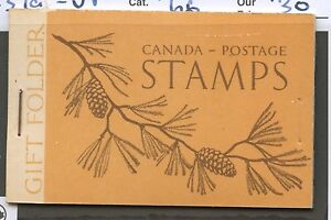 Canada-1947-KGVI-War-Gift-Booklet-BK39a-English-VF