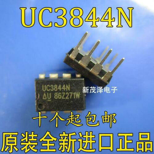 10 x UC3844N HIGH PERFORMANCE CURRENT MODE CONTROLLERS DIP8