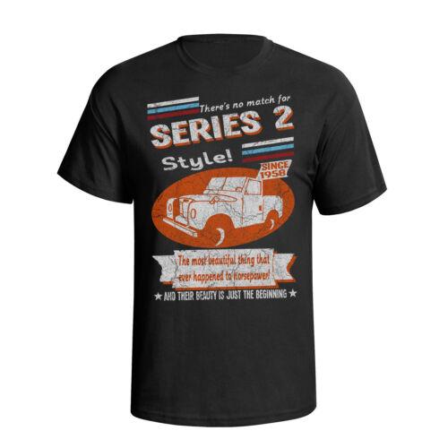 Land Rover Series 2 1958 Retro Style Kids Car T-Shirt