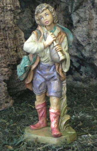 Nativity Scene Villager Musician Figurine Euromarchi Presepio Pesebre Pastor