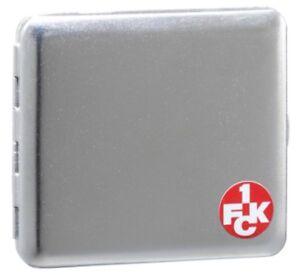 Zigarettenetui chrom  satin 1. FC KAISERSLAUTERN FCK Logo klein NEU