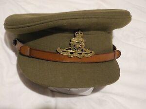 British-Officer-039-s-WW2-Peaked-Cap
