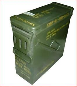 Ammo-Box-Can-PA-125-Ex-Military-Army-Issue-Metal-Storage-Case-HEAVY-DUTY-UTILITY