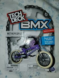 Tech Deck BMX WETHEPEOPLE Series 9 Purple Finger Bike